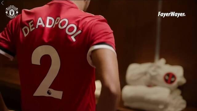 Deadpool enfada al Manchester United en su último vídeo