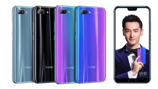 El Honor 10 llega a España con un precio de 399 euros