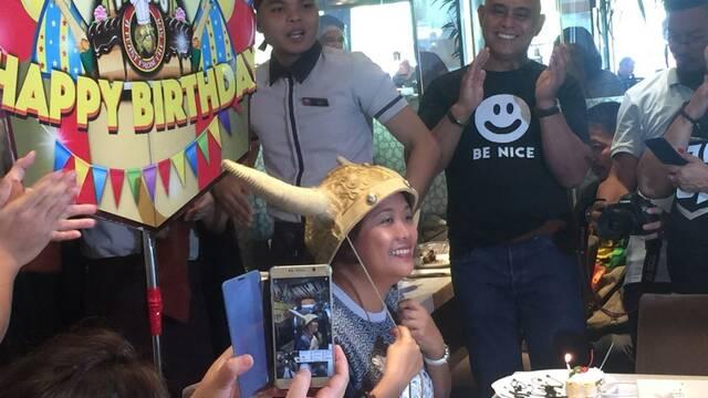 Senadora filipina asegura ser la mujer de Thanos de Vengadores Infinity War