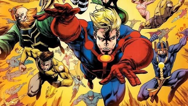 La película de los Eternos de Marvel contrata a sus guionistas