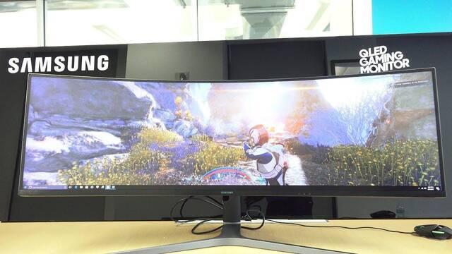 Samsung estaría trabajando en un monitor de 49 pulgadas y 5120x1440