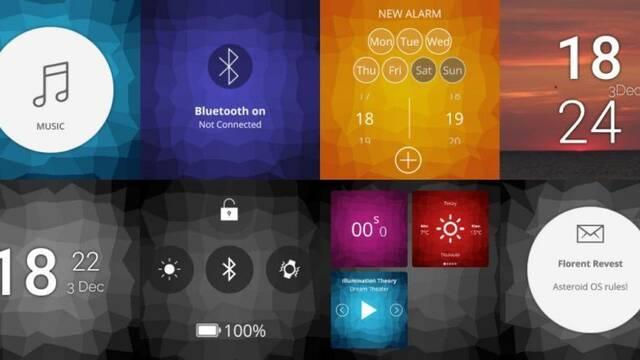 Así es AsteroidOS, el sistema operativo libre para smartwatches