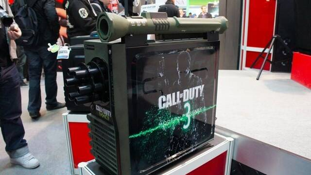 El PC Modding de los viernes: Un ordenador de Call of Duty