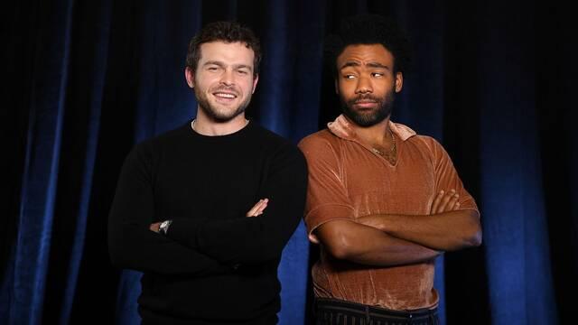 Los actores de 'Han Solo' evitan la toxicidad de algunos fans