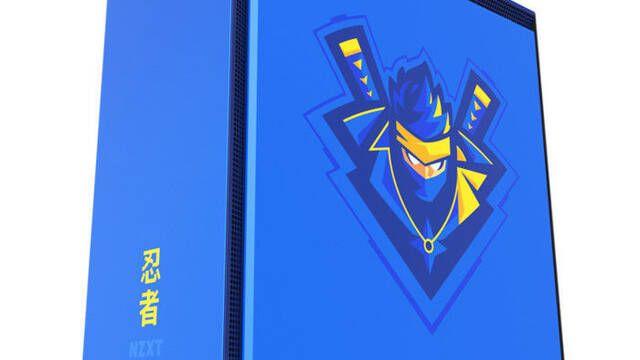 NZXT presenta su caja H700i dedicada a Ninja, el streamer de Fortnite