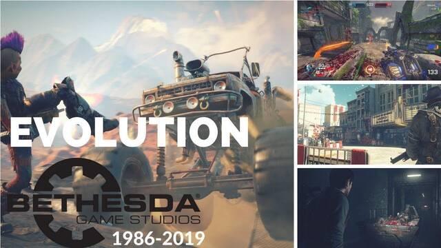 Así ha sido la evolución gráfica de los juegos de Bethesda en 32 años de historia