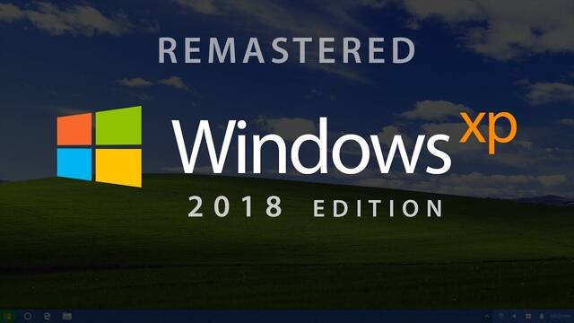 Así sería Windows XP si se hubiera lanzado en 2018