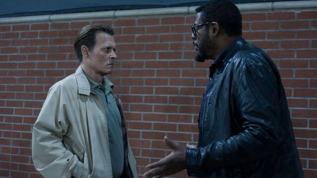 Johnny Depp investiga la muerte del rapero Biggie Smalls en 'City of Lies'