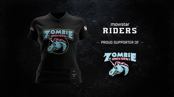 Movistar Riders se alía con Zombie Unicorns, equipo femenino de LOL