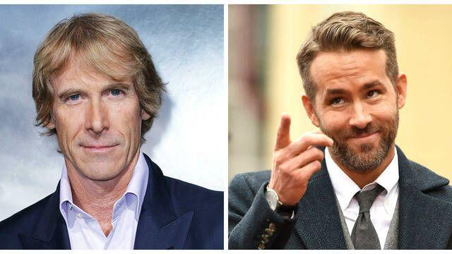 Michael Bay y Ryan Reynolds trabajan en una película para Netflix