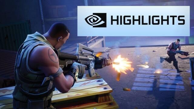 Tutorial: Así se utiliza Highlights de NVIDIA en Fortnite y otros juegos