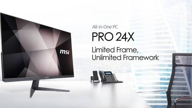 MSI presenta el 24X, su nuevo PC All-In-One ultrafino