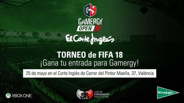 Gamergy acogerá el Open FIFA Xbox El Corte Inglés