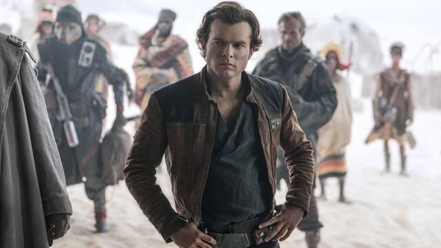 'Han Solo' lucha para conseguir los 100 millones de dólares en EE.UU