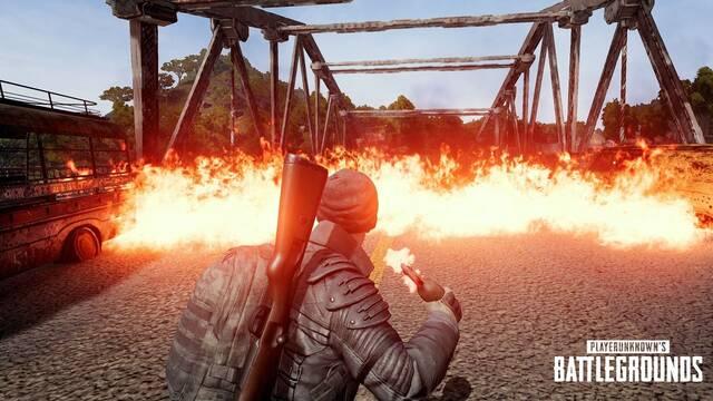 El próximo parche de PUBG aumentará el daño de granadas y cócteles molotov