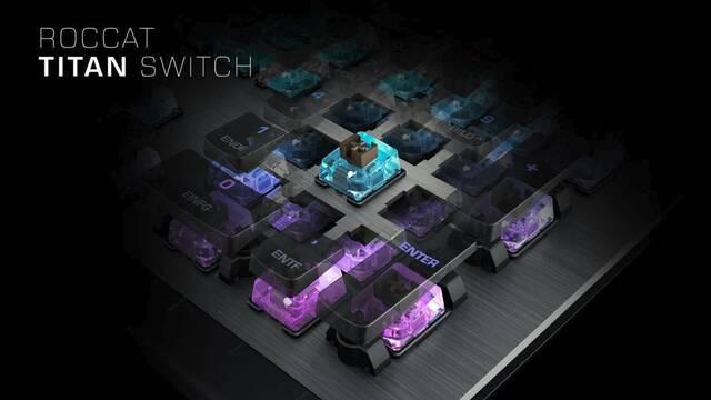 Roccat lanza su propio interruptor para teclados mecánicos