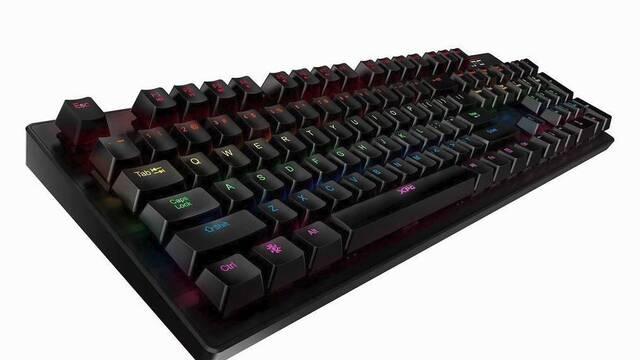 Adata lanza el XPG INFAREX K20, su teclado mecánico barato de 59 euros