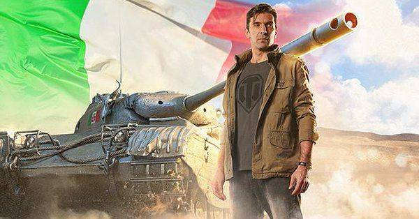Buffon, el legendario portero de la Juve, se une a World of Tanks