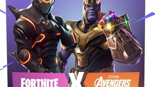 Fortnite unirá su universo al de Los Vengadores: Infinity War