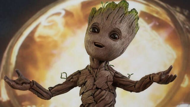 James Gunn revela qué dice Groot al final de Vengadores: Infinity War