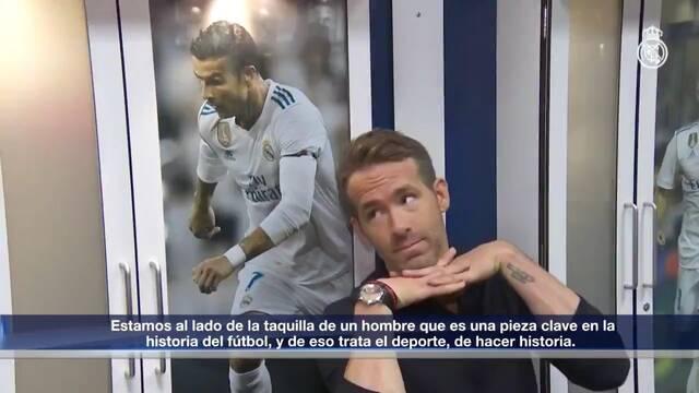Deadpool y Cable visitan el Santiago Bernabéu
