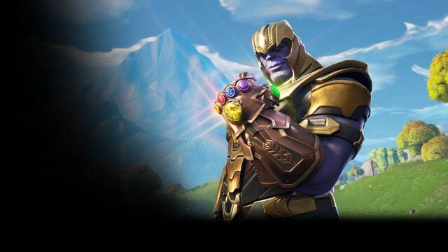Primeros gameplays de Thanos sembrando el terror en Fortnite