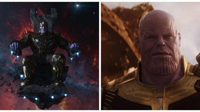 Explican por qué se cambió el diseño de Thanos en Vengadores: Infinity War