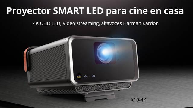 ViewSonic presenta un proyector 4K para tener un cine en casa