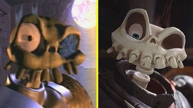 Comparativa gráfica: Medievil original VS. Medievil Remake