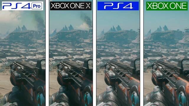 Comparativa gráfica: Rage 2 en PS4, PS4 Pro, Xbox One y Xbox One X