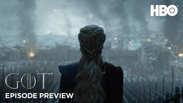 Juego de Tronos: Llega el adelanto del episodio final de la temporada 8
