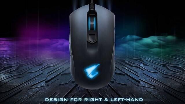 Gigabyte presenta su ratón Aorus M4 para jugar