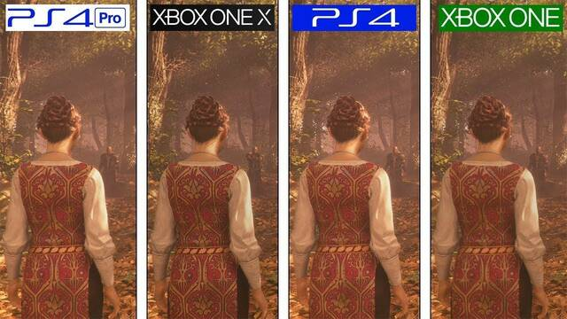 Comparativa gráfica: A Plague Tale Innocence en PS4, PS4 Pro, Xbox One y Xbox One X