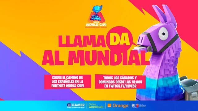 LVP se encargará de retransmitir la Fortnite World Cup