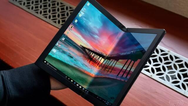 Actualizado: Lenovo muestra su portátil con pantalla plegable