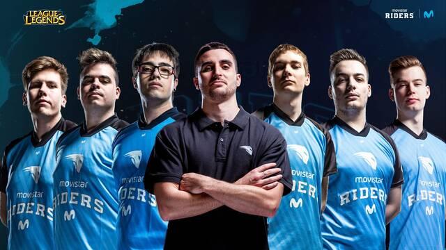 Movistar Riders presenta su nuevo equipo de League of Legends