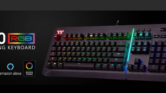 Thermaltake presenta un nuevo teclado mecánico en colaboración con Razer