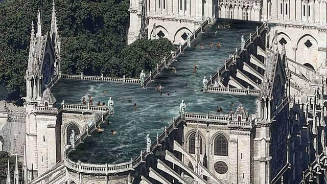 Las propuestas más locas y originales para reconstruir la catedral de Notre Dame