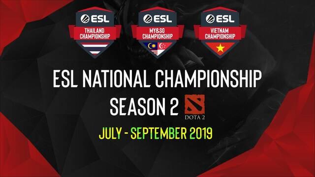 ESL anuncia campeonatos nacionales de DOTA 2 para Vietnam, Malasia y Tailandia