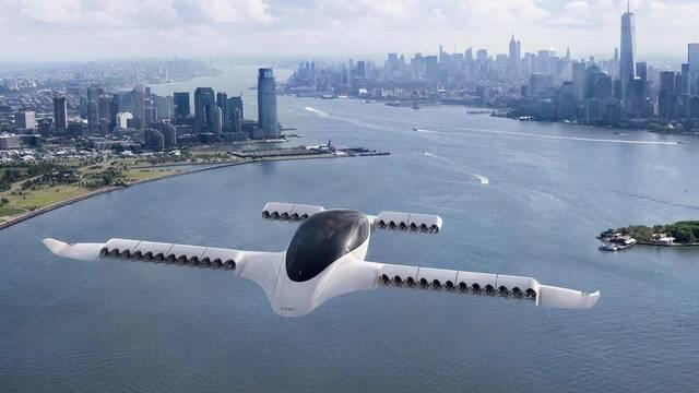 Así es Lilium, el primer taxi volador eléctrico que despegará en 2025