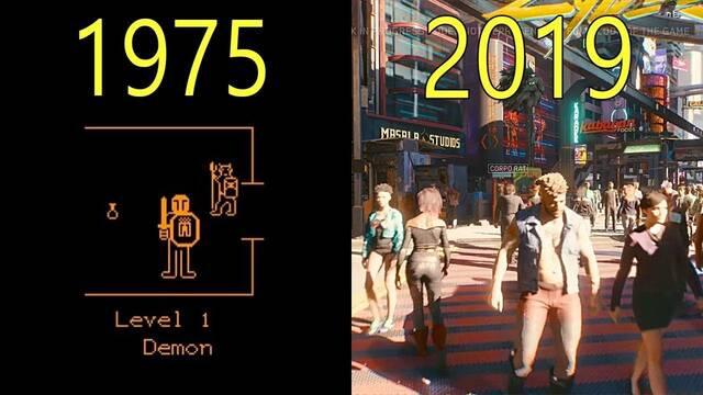 La evolución gráfica de los RPG de 1975 al 2019