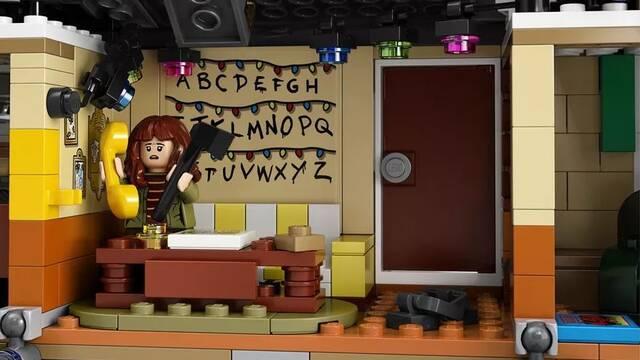 Stranger Things: Un set de LEGO de 2200 piezas muestra el Mundo del Revés