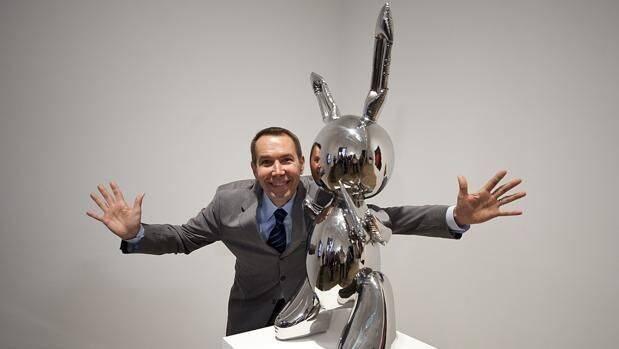 El conejo de acero inoxidable de 91 millones de dólares