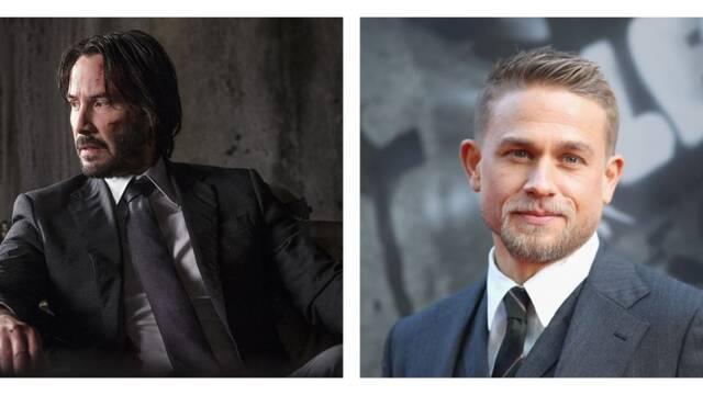 Keanu Reeves y Charlie Hunnam podrían formar parte de 'Los Eternos'