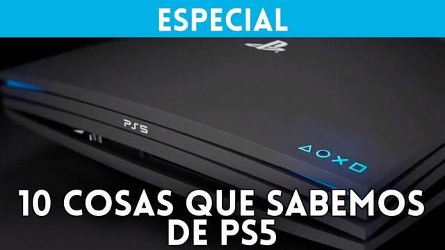 Especial: 10 cosas que sabemos sobre PlayStation 5