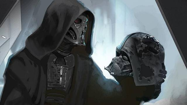 Star Wars: Se muestra un espectacular arte conceptual de Kylo Ren