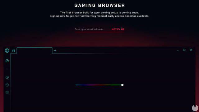 Opera GX, el navegador web para gamers de Opera
