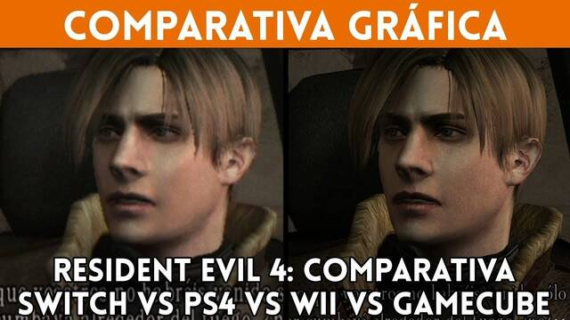 Comparativa gráfica: Resident Evil 4 en Switch, PS4, Wii y Gamecube
