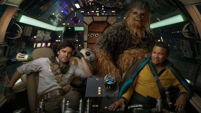 Star Wars: Episodio IX se muestra en unas preciosas fotografías