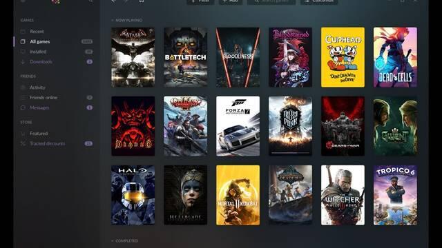 GoG Galaxy 2.0, un cliente para unificar nuestra librería de juegos en PC y consolas
